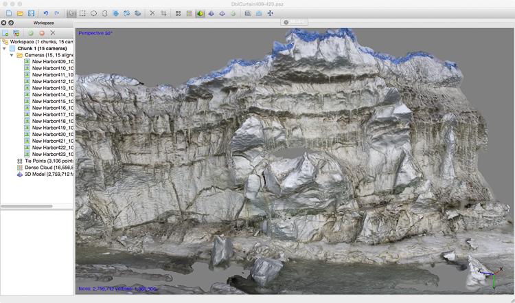 3D file of pressure ridge