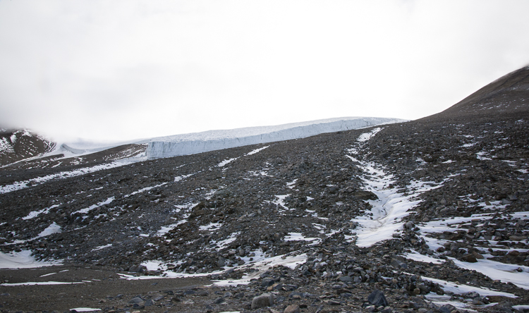 Double Curtain Glacier
