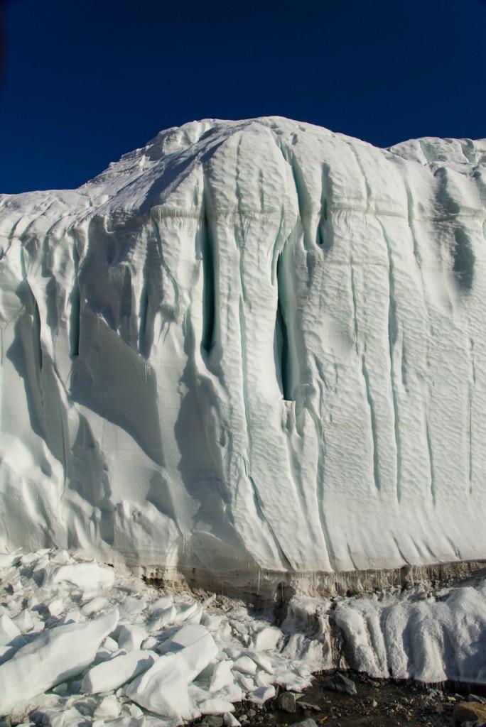 Canada Glacier detail