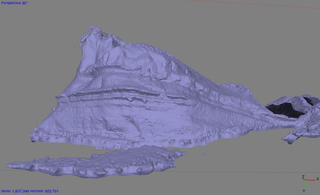 Iceberg 3D form