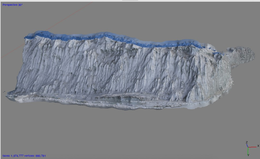PhotoScan capture of iceberg