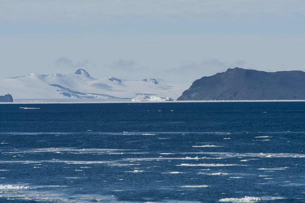 Inaccessible Island from Cape Royds