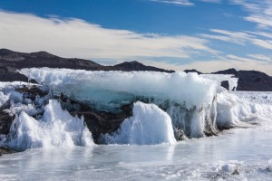 Ice formation, Cape Royds