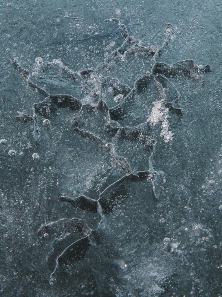 Ice formation, detail, Cape Royds
