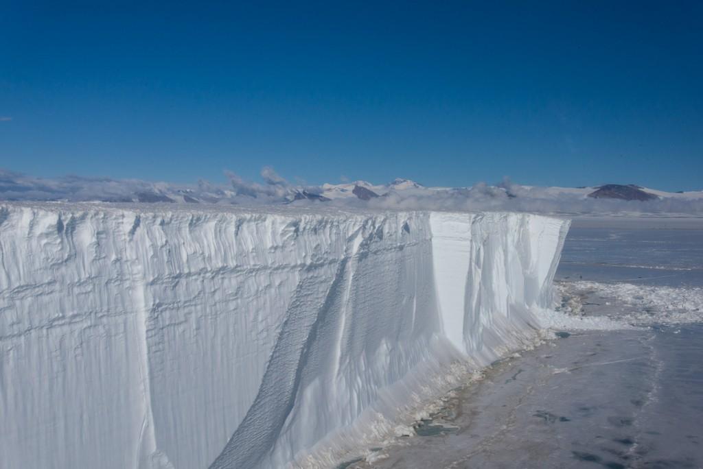 Tabular iceberg, McMurdo Sound