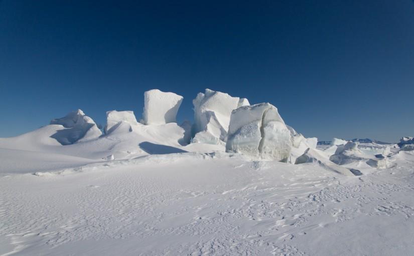 Scott Base pressure ridge
