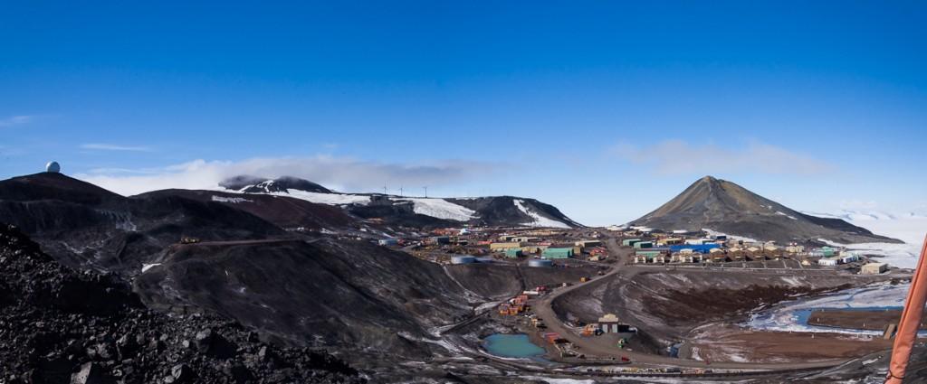 McMurdo Station, Antarctica, vista