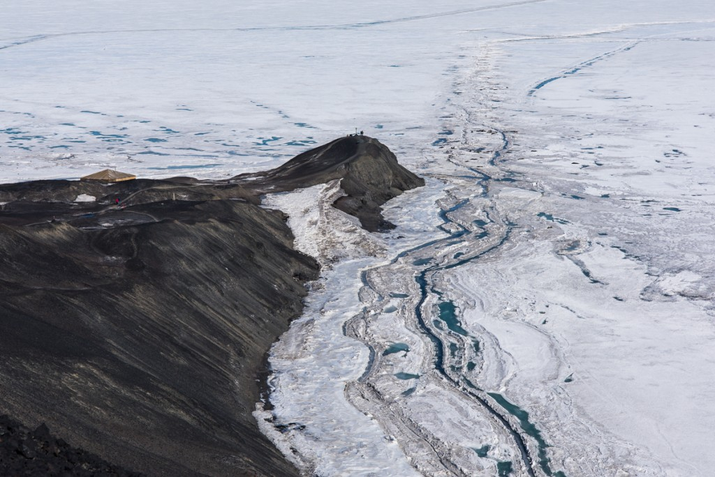 Hut Point sea ice