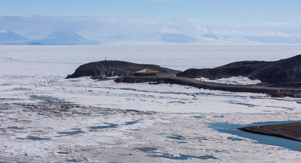 Hut Point from McMurdo