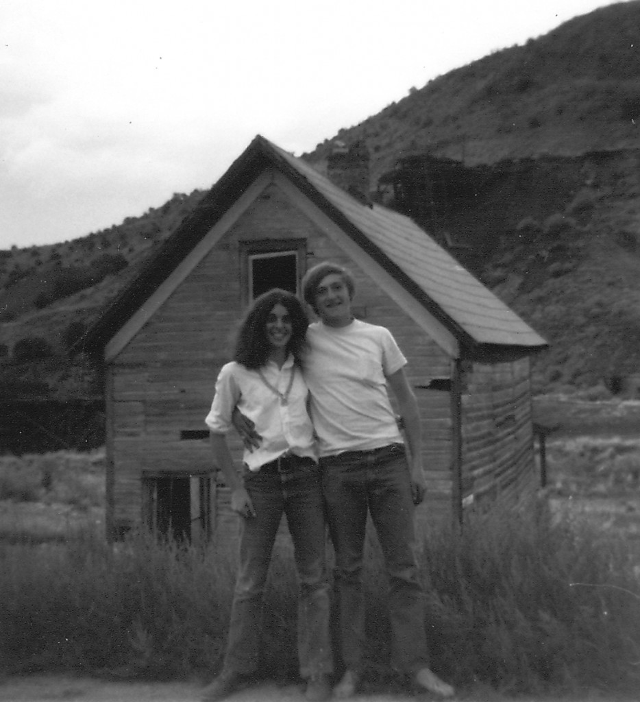 New Mexico ghost town, 1971