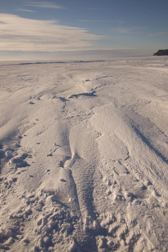 Snow on the sea ice