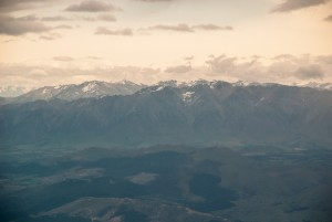 Southern Alps on New Zealand's South Island