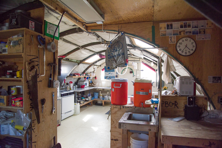 Kitchen in New Harbor Jamesway
