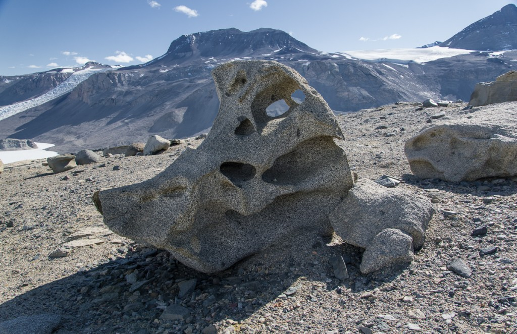 Ventifact, Antarctic Dry Valleys
