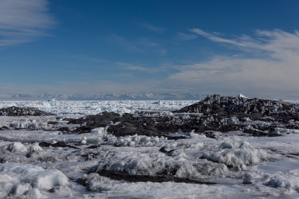 Sea ice, Cape Royds