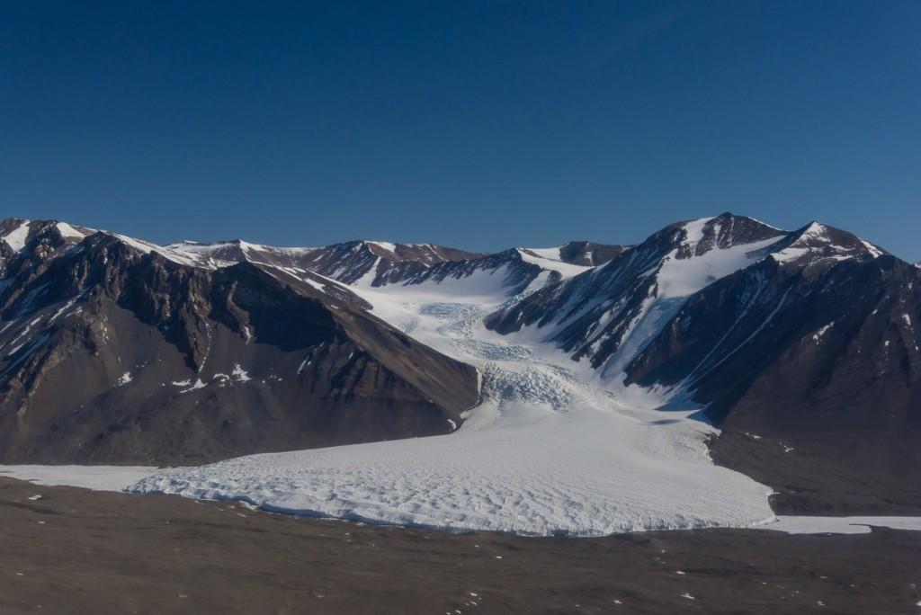 Canada Glacier, Aerial View