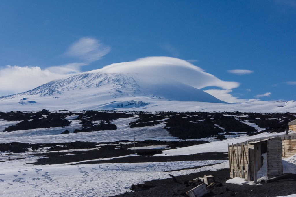 Banner cloud over Mt. Erebus