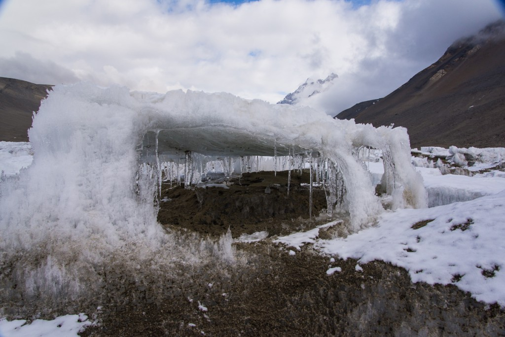 Ice structure, Lake Hoare