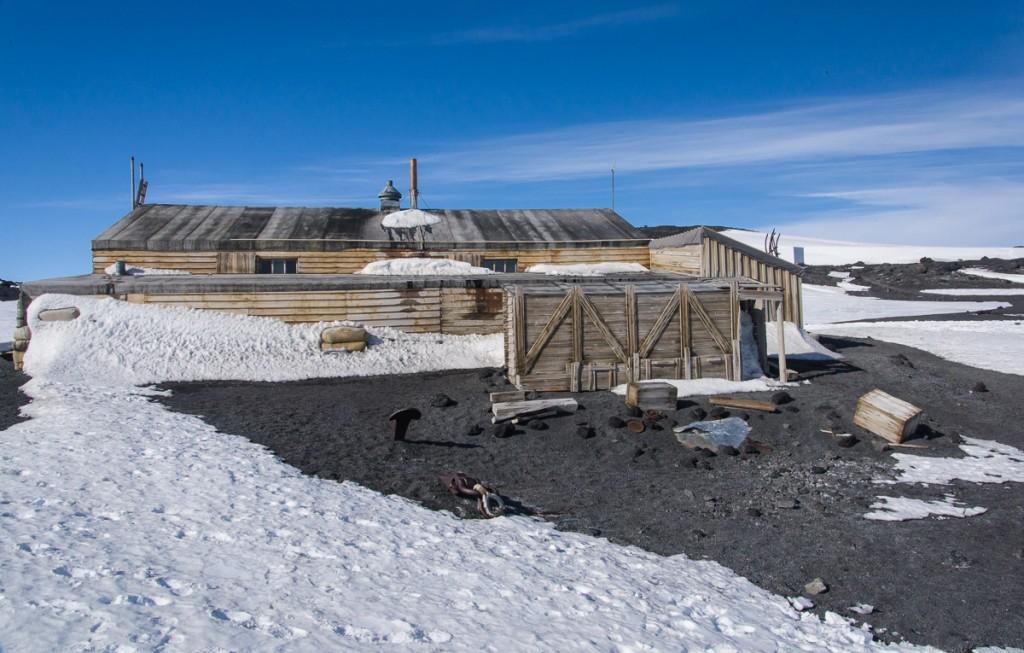 Cape Evans hut